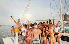 A Boozy Boat Party