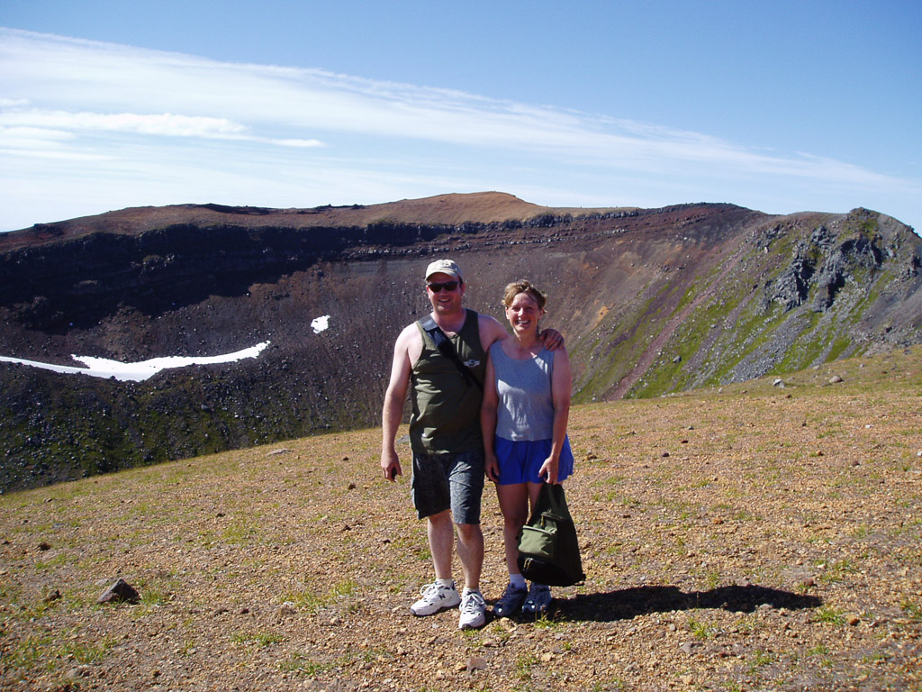 Mt Edgecumbe Volcano Hike