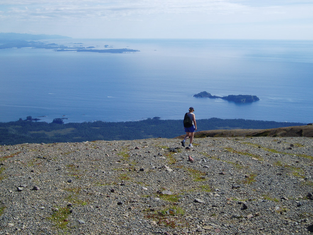 Mt Edgecumbe Volcano Hike