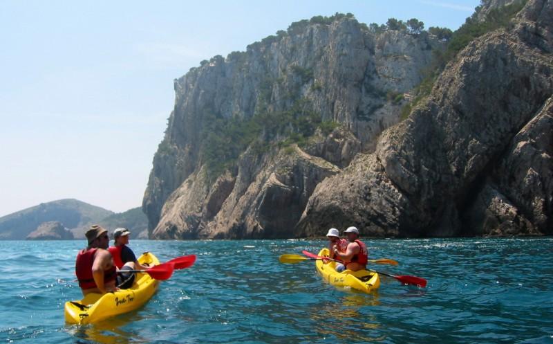 Costa Brava Kayaking Trip from Barcelona