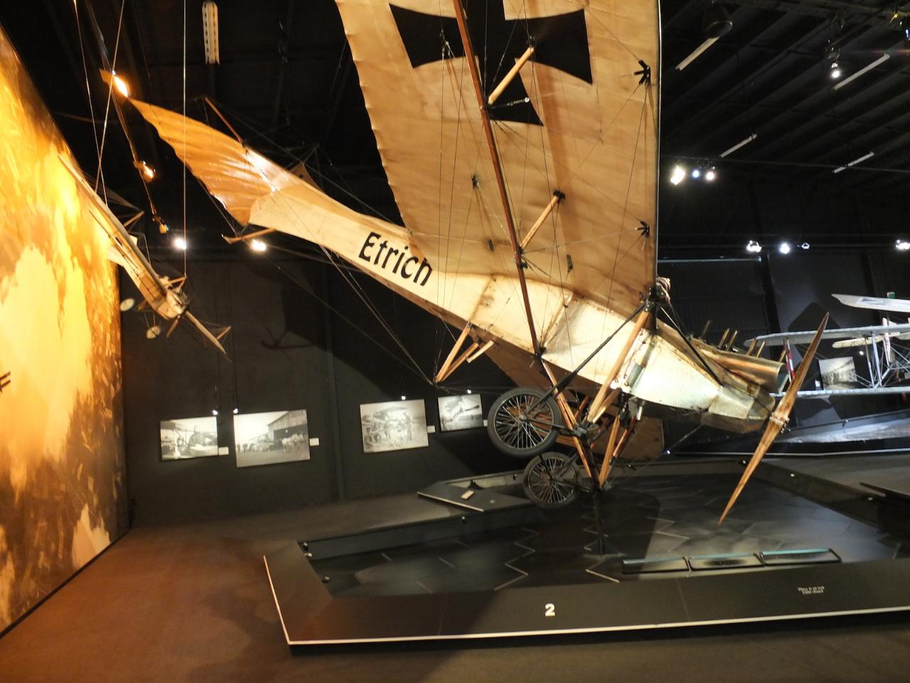 World War 1 aircraft on display in Omaka Aviation Heritage Centre