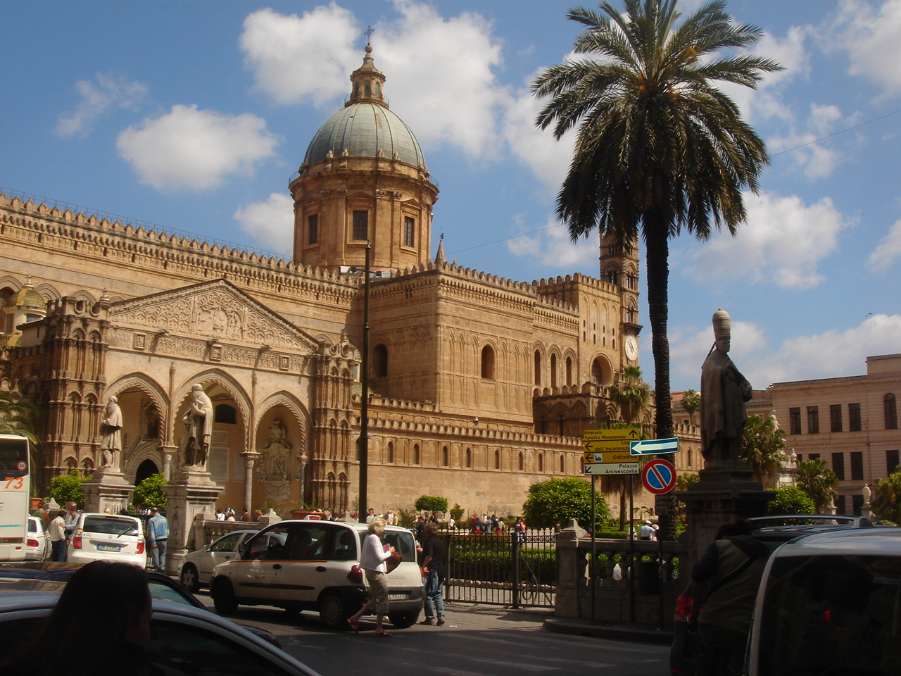 Half Day Taxi Tour To Monreale & Palermo From Palermo Port