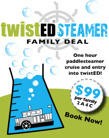 Twisted Steamer - Family Deal