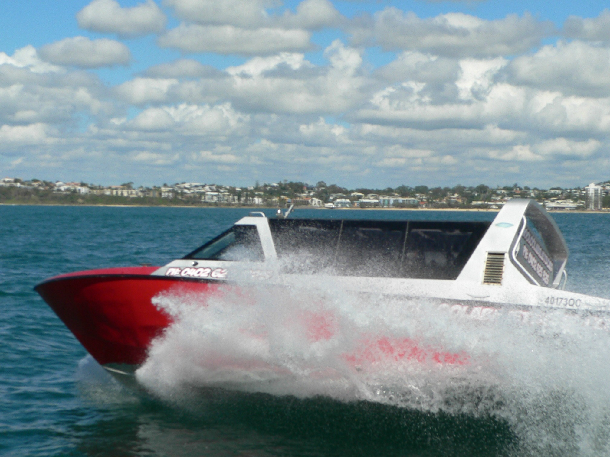 Sunshine Coast Jet Boat Thrill Ride