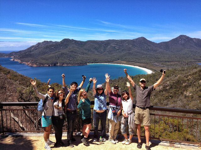 Japan Tours:3-Day Tasmania Tour: Cradle Mountain - Wineglass Bay - Port Arthur